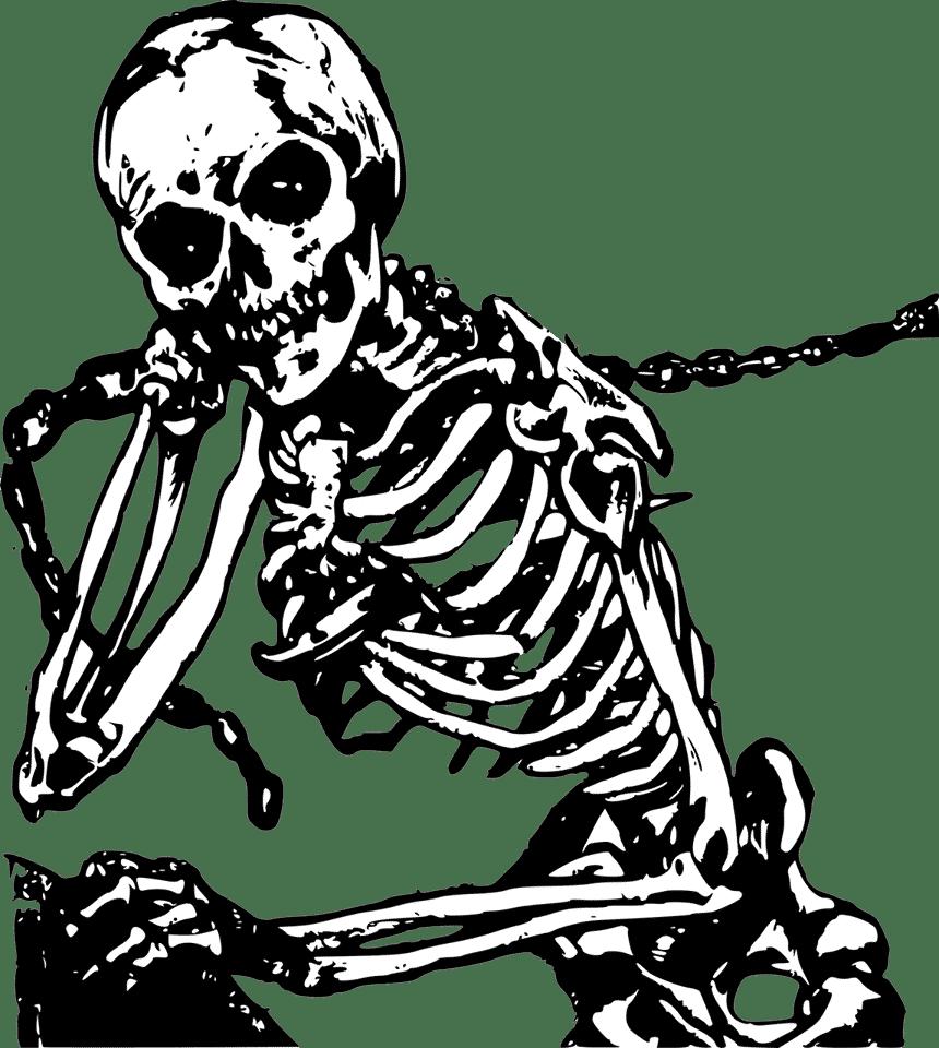 Les pirates fantômes, créatures squelettiques imaginaire