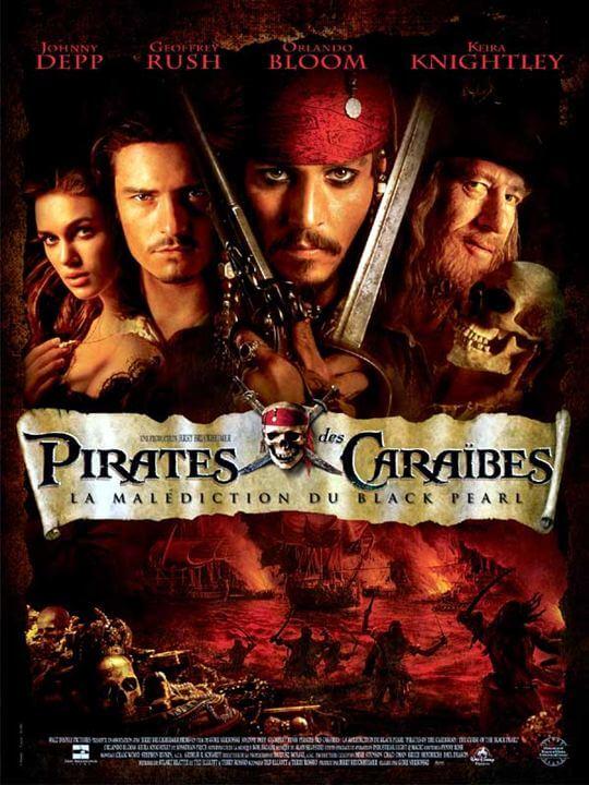 La saga Pirates des caraïbes
